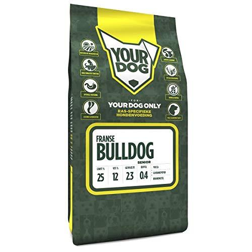 SENIOR 3 KG Yourdog franse bulldog hondenvoer