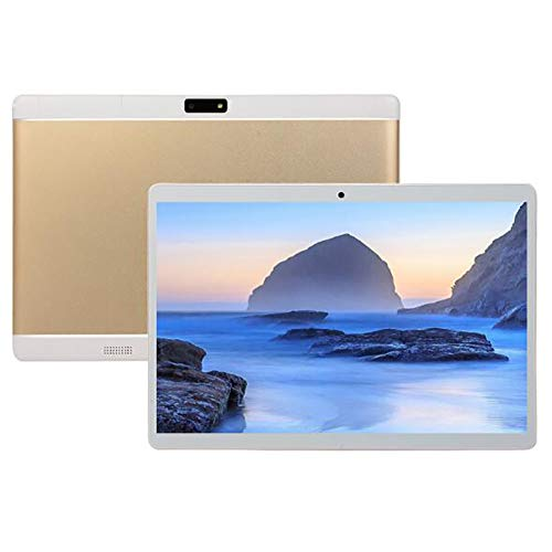Android Tablet 10 inch Android 8.0 Tablet, 6GB RAM, 64GB ROM, Quad Core Processor, HD IPS Screen, 8.0 Front + 13.0 MP Rear Camera, Wi-Fi, Bluetooth - Tablet PC