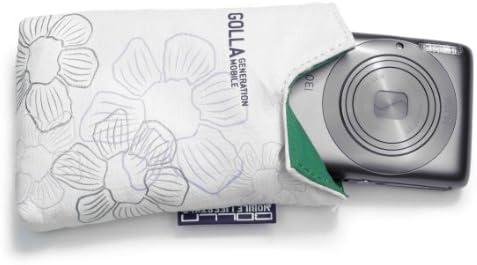 Hama Golla Happy Kompaktkamera Tasche Weiß Kamera
