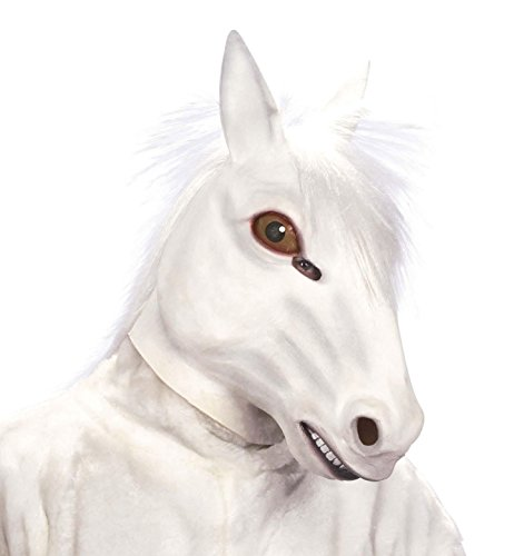Widmann - Maschera da Cavallo con Capelli in Peluche