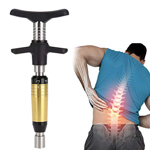 Purchase Body Spinal Chiropractic Tool 6 Levels Spine 300N Back Activator Spine Therapy Back Massage...