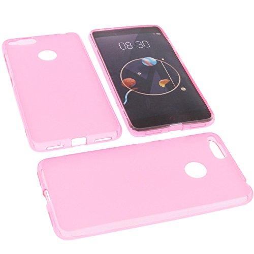 foto-kontor Tasche für Archos Diamond Alpha Gummi TPU Schutz Handytasche pink
