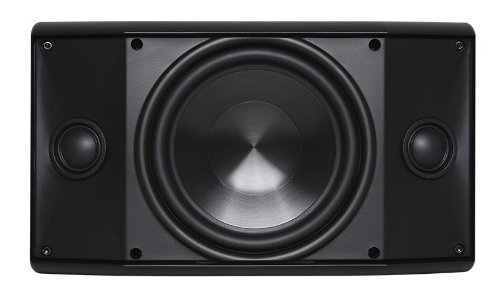 PROFICIENT AUDIO SYSTEMS AW600TTBLK 6.5' Indoor/Outdoor Dual Voice-Coil Speaker (Black) (Renewed)