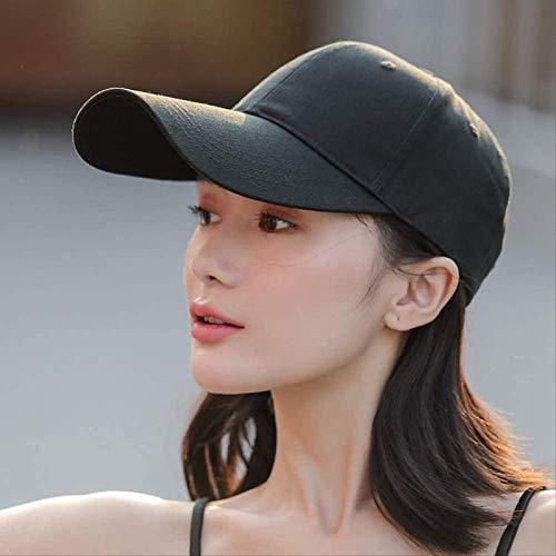 zdffgcgvg Hoeden, hoeden met lange rand, dameshoeden, trendy heren, zomerse ademende zonnehoeden, baseballpetten voor de zon, zwarte paraplus, Koreaanse versie A