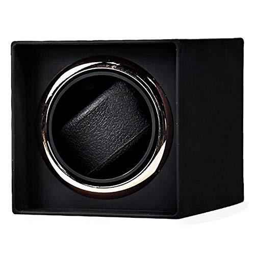 XUSHEN-HU Bobinadoras automáticas de reloj con motor japonés Mabuchi caja de visualización automática para 1 reloj negro