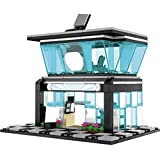 City Street View Retail Cell Phone Store Building Bricks Toy Blocks Set