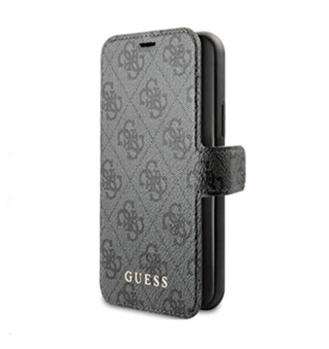 Guess - Funda de la colección 4G GUFLBKSN584GG para iPhone 11 Pro, Color Gris