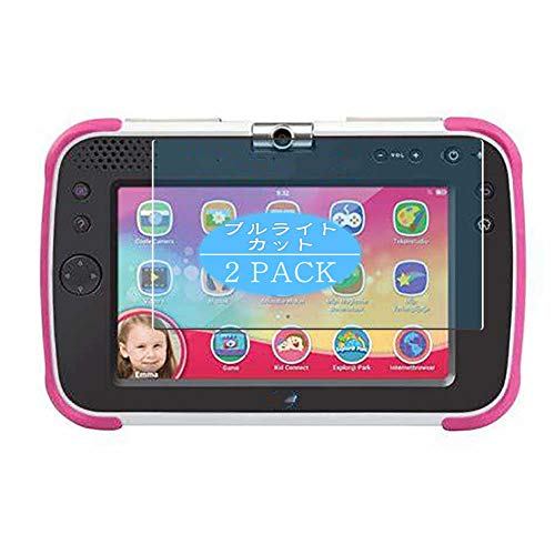 VacFun 2 Piezas Filtro Luz Azul Protector de Pantalla Compatible con VTech Storio MAX XL 2.0 7 Inch, Screen Protector Película Protectora (Not Cristal Templado) Anti Blue Light Filter New Version
