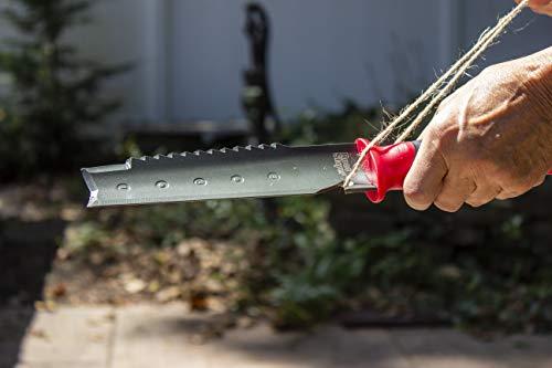 Radius Garden 16211 Root Slayer Soil Knife, Red