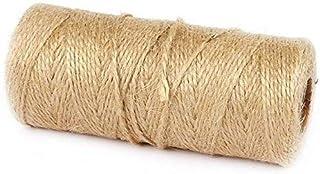100メートルの自然なリネンジュートのひもの黄麻樹の弦楽縄跳びギフト包装コルDSスレッドDIYスクラップブッキングFLOR ISTSクラフトガーデニングCOR D(色、幅1.5mm)、幅1.5mm (Color : Width 1.5mm)