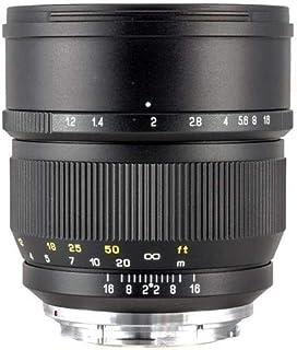 Zhongyi Mitakon 85 mm f/1,2 Speedmaster Objektiv für Canon EOS Digital Kameras – Manueller Fokus