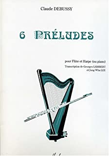 Preludes (flute and harp) (French Edition)