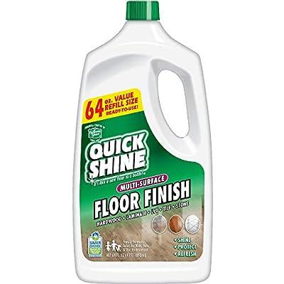 Quick Shine Multi-Surface Floor Finish and Polish, 64 oz. Refill Bottle