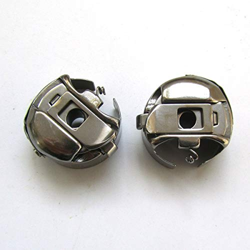 KUNPENG 10PCS #150971A Large Aluminum bobbins FIT FOR Brother LT2-B837//B838 SEIKO LLW28 Consew 255RB+