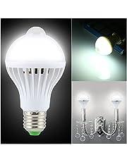 GHC LED Gloeilampen LED-lamplampjes PIR MOTION SENSOR LAMP E27 LAMP Geluid en lichtregeling E27 Infrarood Energiebesparing 3W 7W 9W 220V voor thuisverlichting