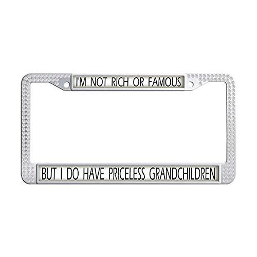 grandchildren license plate frame - 6