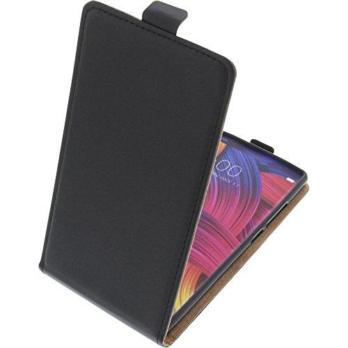 foto-kontor Tasche für Doogee Mix 2 Smartphone Flipstyle Schutz Hülle schwarz