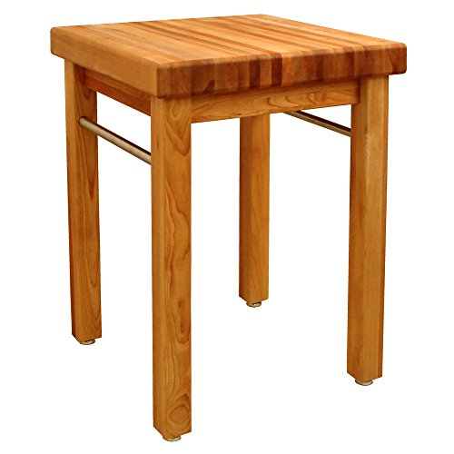 Catskill Craftsmen French Country Square Butcher's Block