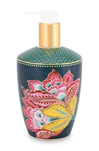 Pip Studio Seifenspender Jambo Flower | Blue - 440 ml