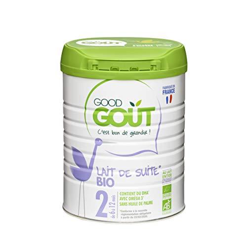 Good Goût - BIO - Lait de Suite 2eme age de 6 Mois a 12 Mois 800 g