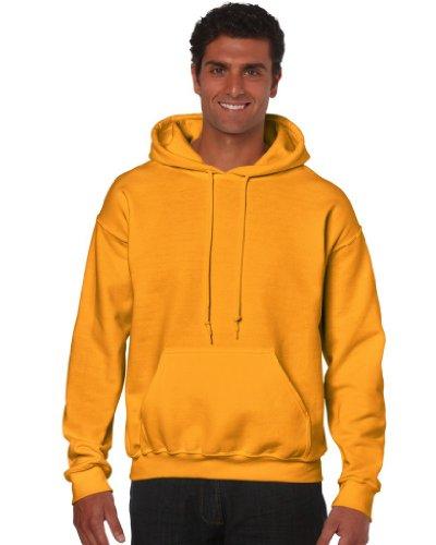 Gildan Heavy Blend Erwachsenen Kapuzen-Sweatshirt 18500 gold, M
