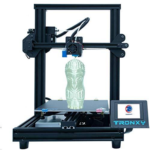TRONXY stampante 3D XY-2 Pro nuova nuova nuova scheda madre ultra silenziosa + estrusore Titanio, installazione rapida con funzione Resume Printing per principianti e utenti domestici