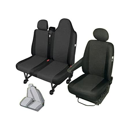 Kegel Blazusiak Front Stoffsitzbezüge Sitzschoner Set Fahrersitz Doppelbank Zweierbank Geteilte Sitzfläche Auto