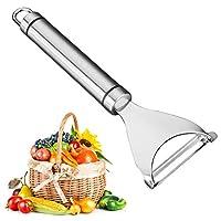 werpower pela verdure pelapatate professionale in acciaio inox – pela verdure spelucchino - peeler frutta e verdura-pelapatate pelapatate in acciaio inox-coltello per pelare melone