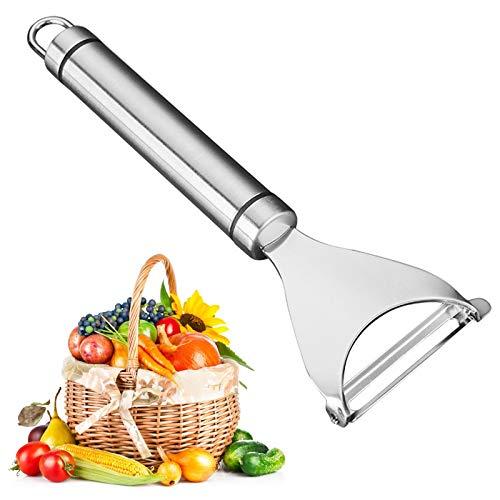 WERPOWER Sparschäler 304 Edelstahl Kartoffelschäler Gemüseschäler Spargelschäler, Schäler für Gemüse & Obst Kartoffel Gurke Karotte Schäler Multifunktionales
