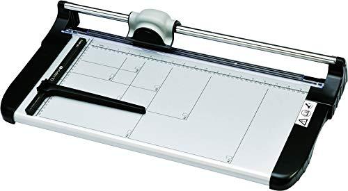 Olympia TR 4815 Rollenschneider (mit Schneidelineal, DIN A3, 20 Blatt, Positionierhilfe, Schneidemaschine für Papier, Karten und Fotos, Papierschneidemaschine aus Metall)