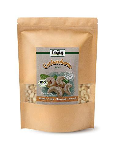 Biojoy Anacardi crudi BIO, non salate e naturali, Anacardium occidentale (1 kg)