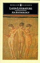 Latin Literature: An Anthology