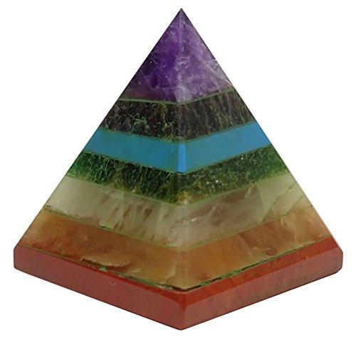 Harmonize curativo de Cristal Multistone pirámide Espiritua