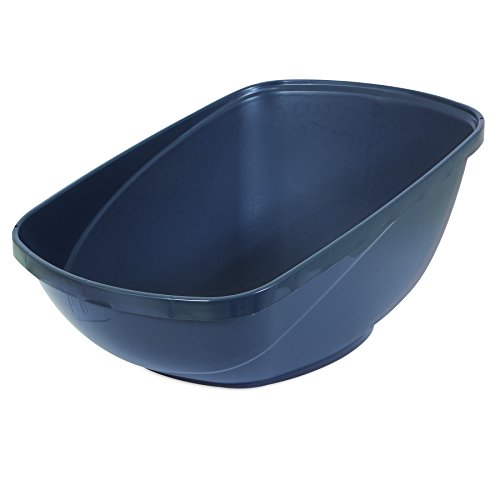 Petmate Hi-Back Open Litter Pan, Jumbo