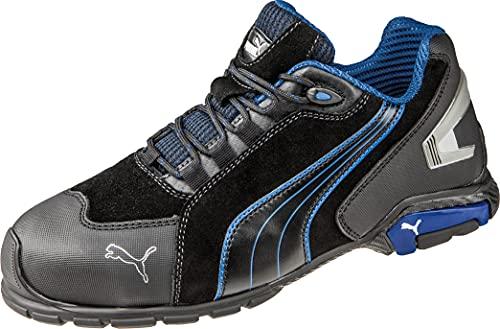 """Zapatos de seguridad""""Rio"""" Low S3SRC de Puma 642750–256–43, color negro y azul"""