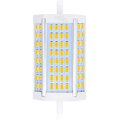 Boenxuan 30W R7S LED Lampe Warmweiß Dimmbar,Double Ended Leuchtmittel Flutlicht Ersatz Halogenlampe Stehlicht Maisbirne Für Arbeitslicht,Weiß