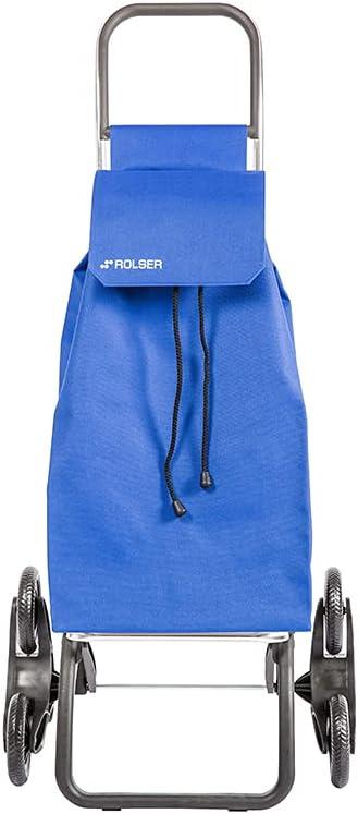 Rolser Carro Saquet LN 6 Ruedas Sube Escaleras - Azul
