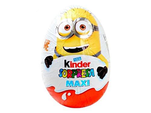 Kinder Sorpresa Maxi Minions 100gr con sorpresa all'interno Mini Uovo cioccolato al Latte