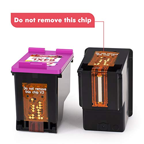 INKMATE Remanufactured Replacements for HP 64XL Ink Cartridges N9J91AN N9J92AN for Hp Envy Photo 7155 7855 6255 7120 6252 6220 7158 7130 7132 Envy 5542 Printer (1 Black 1 Tri-Color)