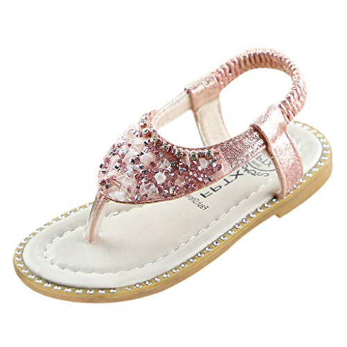 Zapatos de Baile Niña Zapatos Bebe Niña con Suela Primeros Pasos Bautizo Verano Lentejuelas Zapatos de Princesa Chicas para Bebés recién Nacidos Lindos Antideslizantes Lindos y Suaves