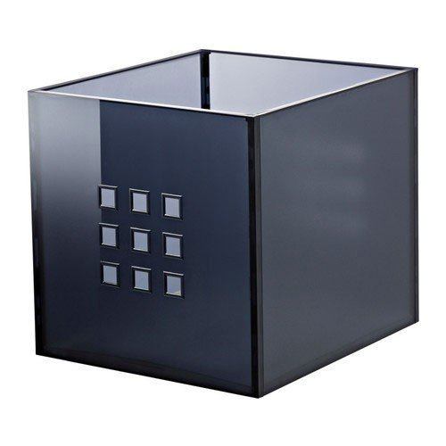 IKEA elbmö LEKMAN, colore grigio scuro (per scaffali EXPEDIT)