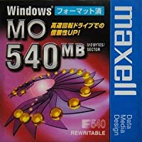 【アウトレット】在庫限り!マクセル 3.5インチMOディスク540MB Windowsフォーマット済