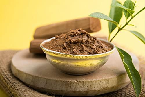 Mysore Chandan Paste / Mysore Sandalwood Tilak Paste 100% Pure Premium Quality for Puja Use Hindu Religion Pooja Item (100 Grams)