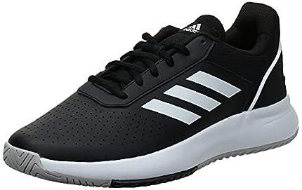 Adidas Courtsmash, Zapatillas de Tenis para Hombre, Multicolor (Negbás/Ftwbla/Gridos 000), 42 2/3 EU