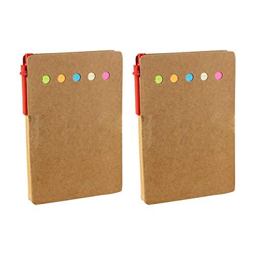 フェリモア 付箋収納ケース 付箋 収納用ケース ノート メモ帳 オフィス文具 2点セット