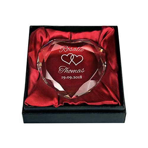 Cœur en cristal pour tous les amoureux