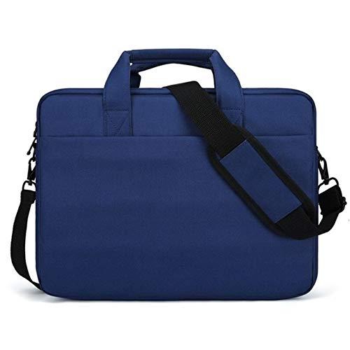 Generic 17 Inch Portable Computer Laptop Notebook Tablet Bag Document Magazines Messenger Shoulder Business Office Handbag Men WomenBlue