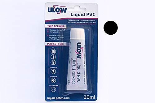 Liquid Patch - Flüssiges PVC Schwarz zum flicken von Löchern oder Rissen bei Schlauchbooten