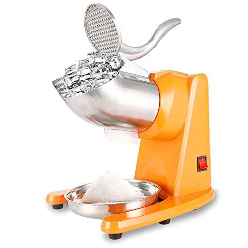 Doppia lama per trituratore ghiaccio, 500 W, macchina per ghiaccio Pilato, 65 kg/HR, separatore per ghiaccio e ghiaccio, adatto per uso domestico e professionale.