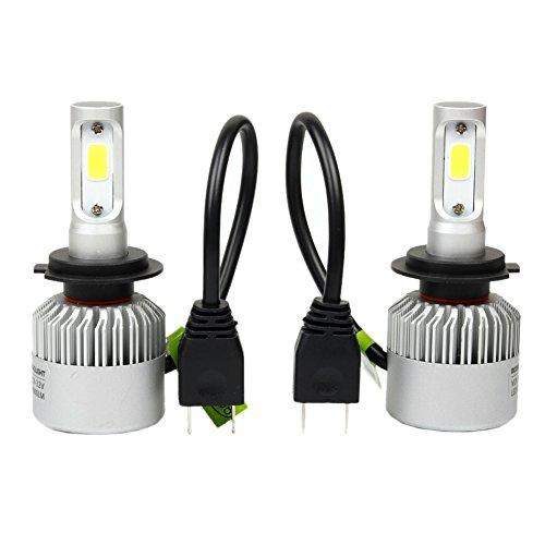 H7 Glühbirne, 80 W, 8000 lm, 6500 K, Weiß